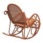 Rocking Chair en rotin EVISSA - Rotin Design de la marque image 3 produit
