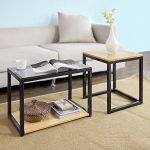 SoBuy® FBT35-Sch Tables Basses Gigognes - Set de 2 de la marque image 3 produit