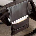 SoBuy® FST20-BR Eponge plus épais!! Fauteuil à bascule berçante relax avec pochette latérale amovible, Rocking Chair Bouleau Flexible de la marque image 4 produit