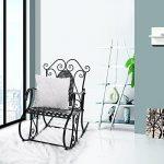 Songmics Feuteuil/Chaise à bascule en fer pour Balcon Jardin Salle GRC101B de la marque image 2 produit