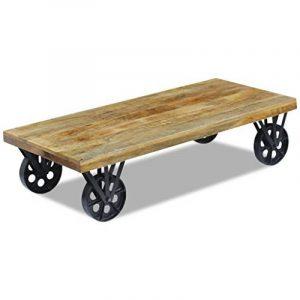 Table basse avec roue ; les meilleurs produits TOP 4 image 0 produit