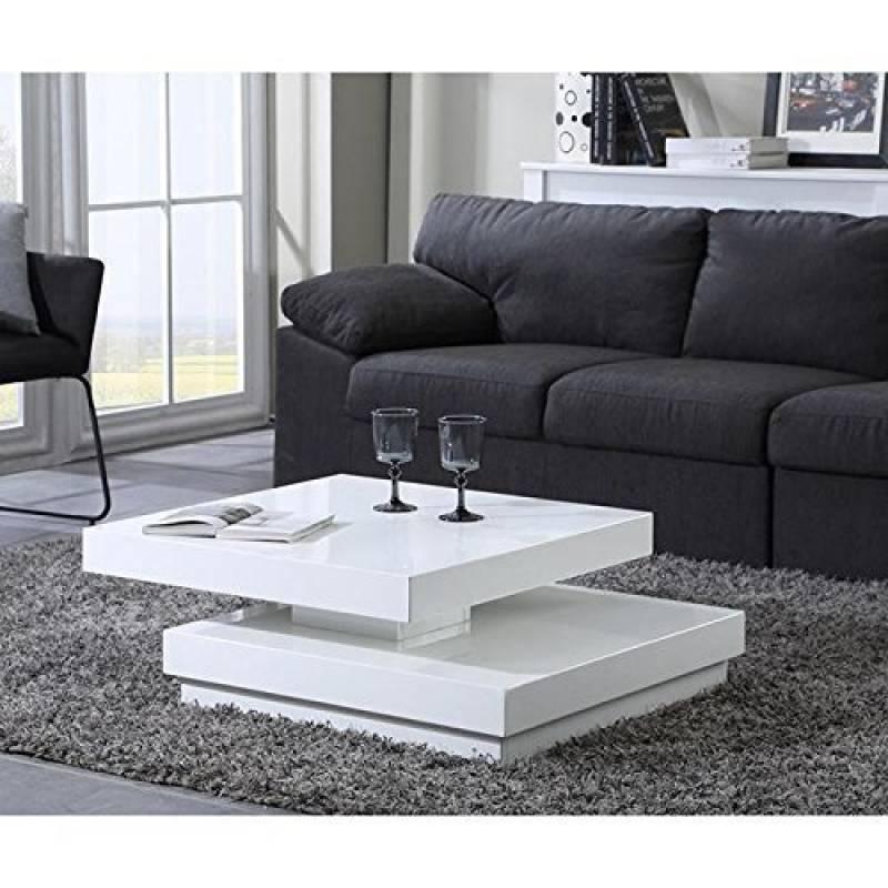 Table Carree Blanche: Table Basse Carré Blanc Laqué Comment Choisir Les
