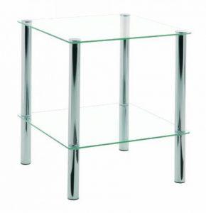 Table basse en verre 2 plateaux : notre top 12 TOP 0 image 0 produit