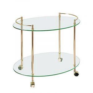 Table basse en verre 2 plateaux : notre top 12 TOP 9 image 0 produit