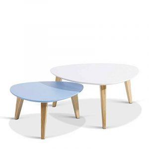 Table gigogne bois massif ; acheter les meilleurs modèles TOP 0 image 0 produit