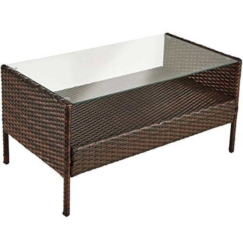 Wohnling Table basse en bois massif dAcacia 120 cm de ...