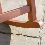 Trueshopping Fauteuil à bascule traditionnel en bois Finition naturelle de la marque image 3 produit