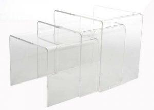 Votre meilleur comparatif : Tables gigognes acrylique TOP 2 image 0 produit