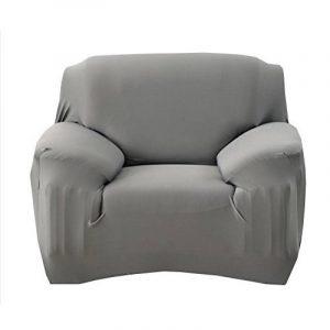 WINOMO Housse de fauteuil Canapé en Polyester Extensible Décor Salon Antipoussière Couvertures et Protecteur de Sofa (Gris) de la marque image 0 produit