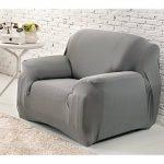 WINOMO Housse de fauteuil Canapé en Polyester Extensible Décor Salon Antipoussière Couvertures et Protecteur de Sofa (Gris) de la marque image 1 produit
