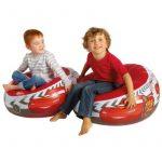 Worlds Apart 864853 Pouf Gonflable pour Enfants Disney Cars PVC Rouge 35 x 65 x 65 cm de la marque image 1 produit