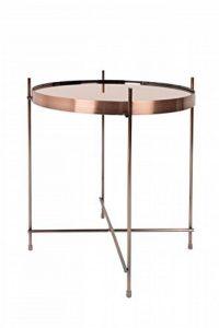 Zuiver 2300038 Cupid Table Basse Verre Cuivre 43 x 43 x 45 cm Taille M de la marque image 0 produit