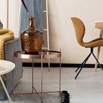Zuiver 2300038 Cupid Table Basse Verre Cuivre 43 x 43 x 45 cm Taille M de la marque image 3 produit