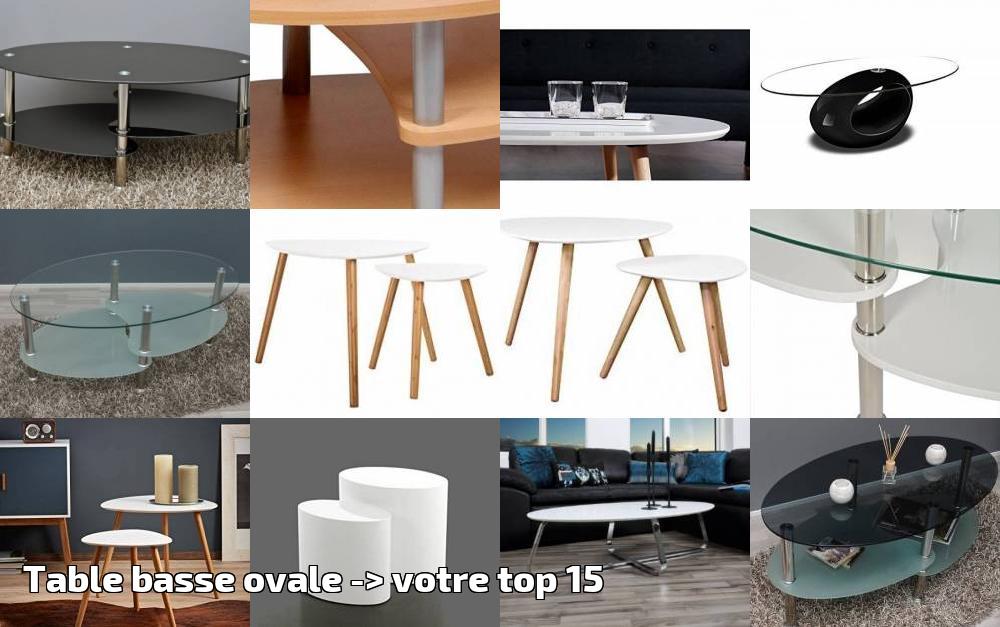 Pour Top Salon Table Ovale Basse 15Meubles De Votre 2019gt; D9I2WHE